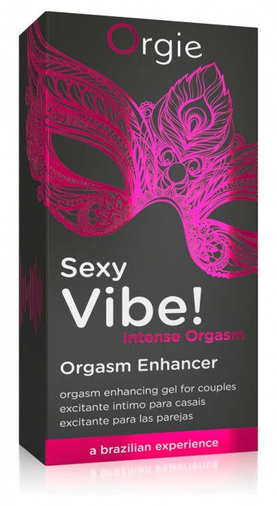 Orgie Sexy Vibes Orgasm Enhancer 15ml