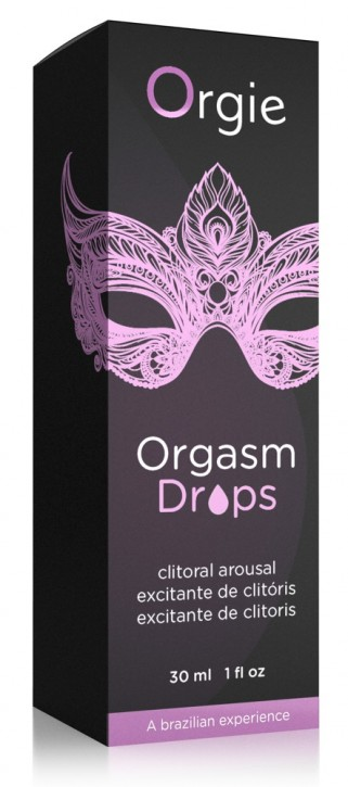 Orgie Orgasm Drops clitoris arousal 30ml