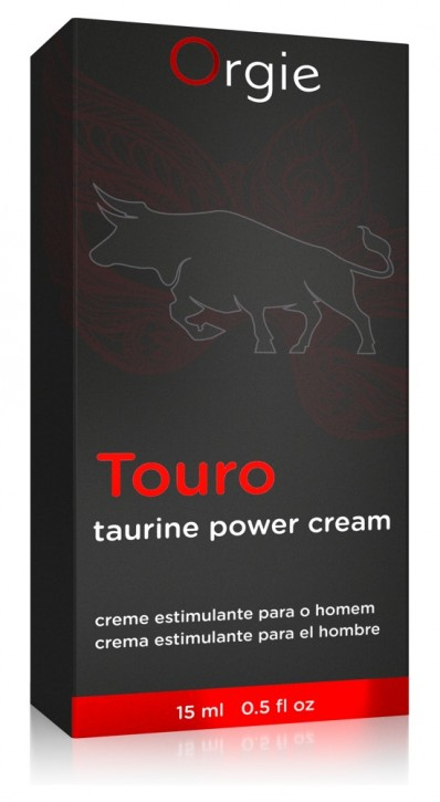 Orgie Touro Taurine Power Cream 15ml