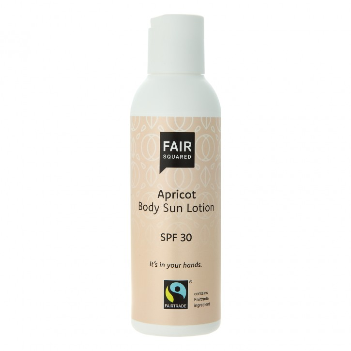 FAIR SQUARED Body Sun Lotion APRICOT SPF30 150ml