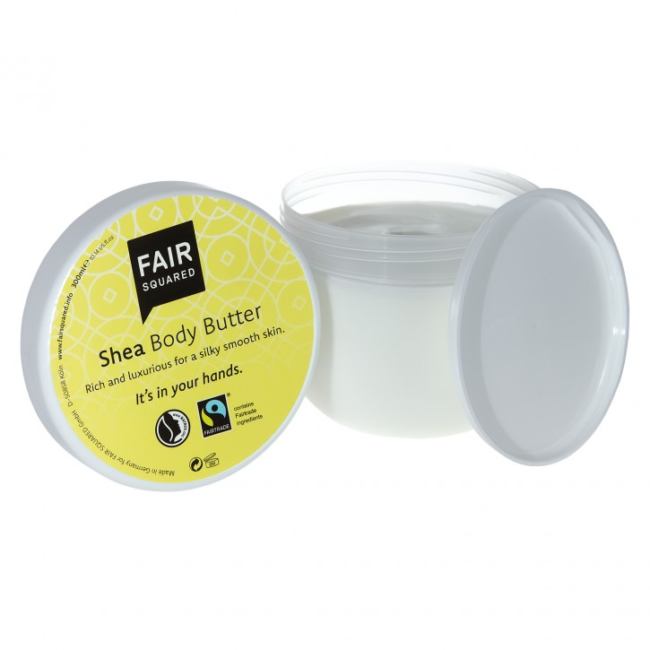 FAIR SQUARED Body Butter SHEA 300ml
