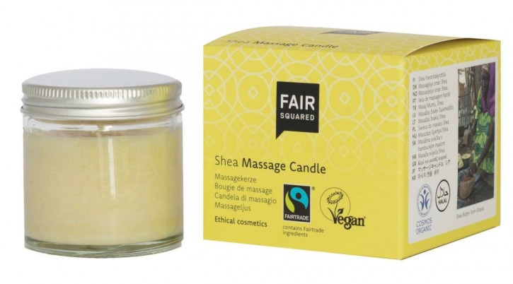FAIR SQUARED Massage Candle Shea 50ml