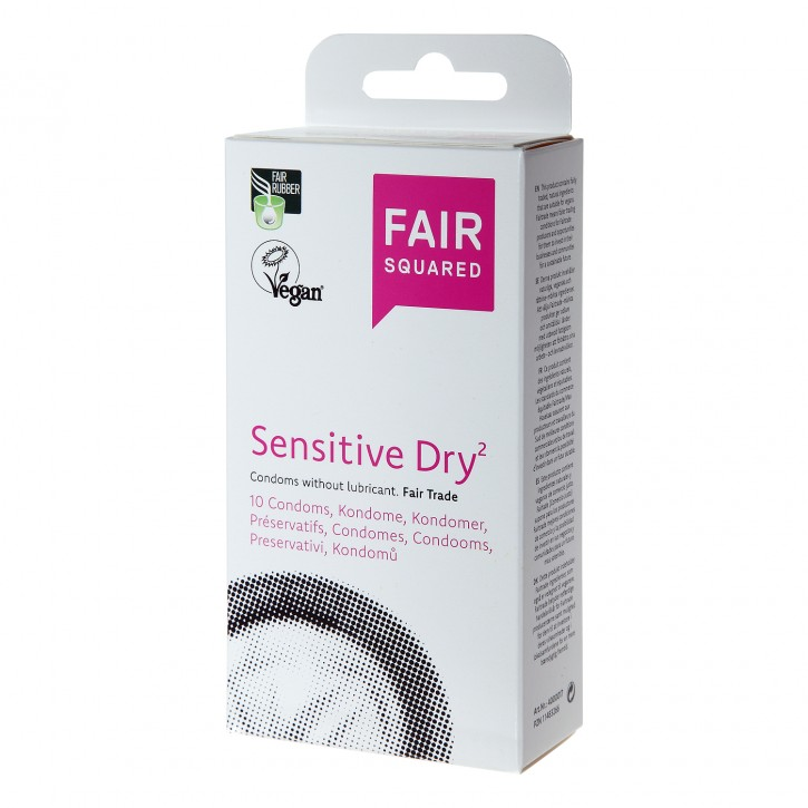 Fair Squared Sensitive Dry vegan - 10er
