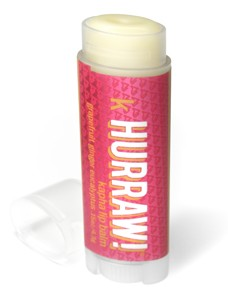 HURRAW! Kapha Grapefruit-Ingwer Lip Balm