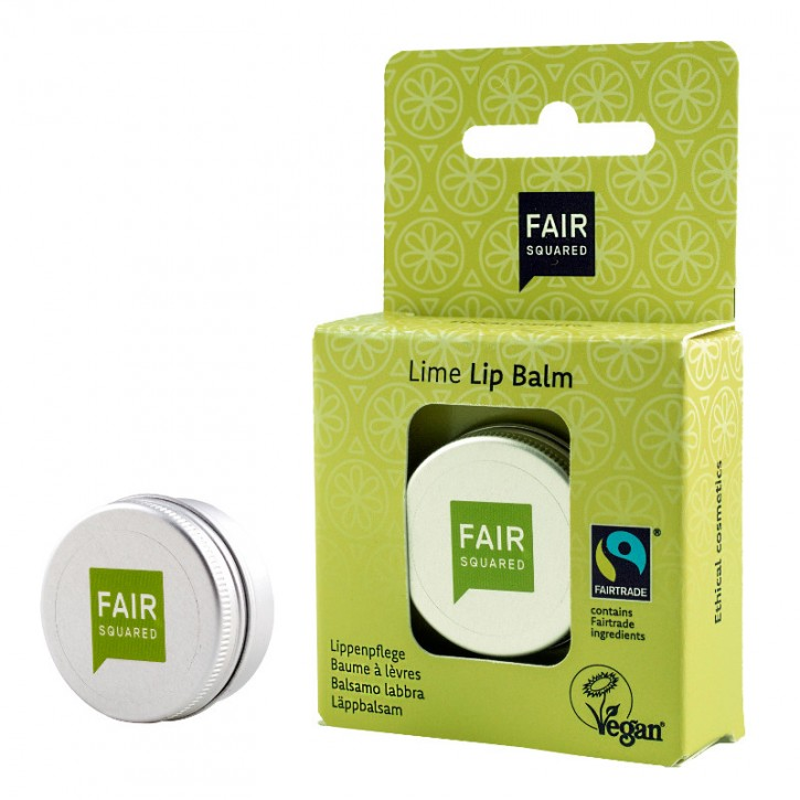 FAIR SQUARED Lip Balm LIME FRSEH 12g
