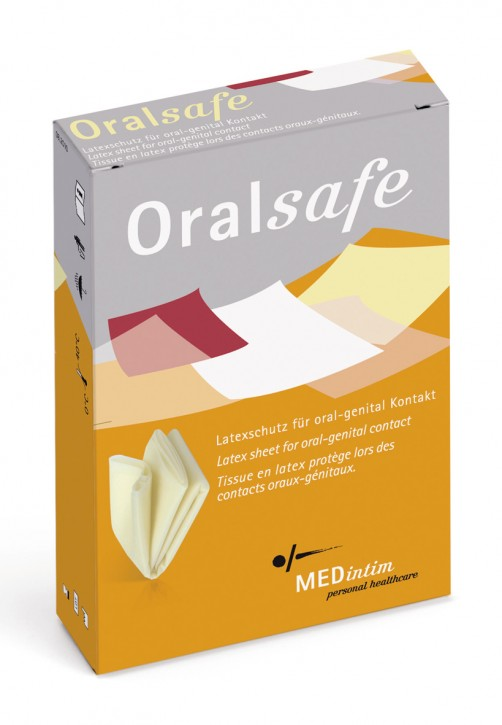 Latex Schutztuch – Oral Safe Vanille