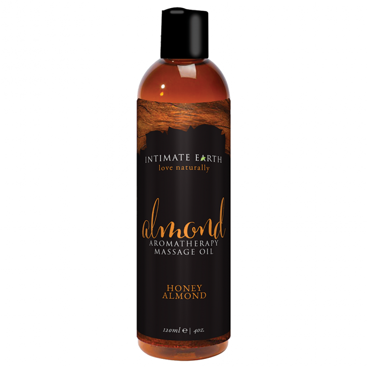 Intimate Earth Honey Almond Massage Oil 120ml