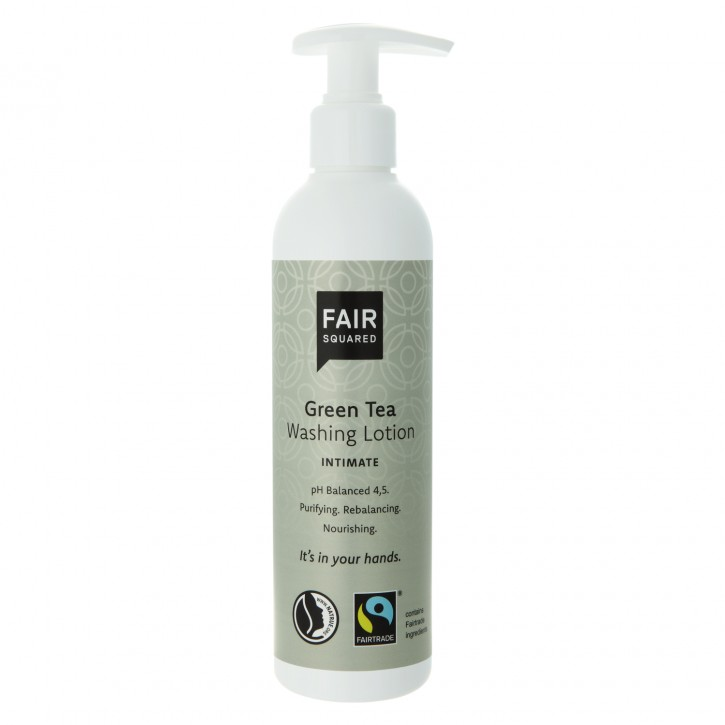 FAIR SQUARED Intimate Washing Lotion ph 4.5 GREEN TEA 250ml