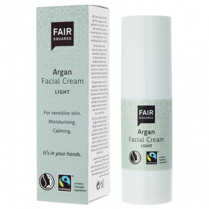 FAIR SQUARED Facial Cream light ARGAN 30ml