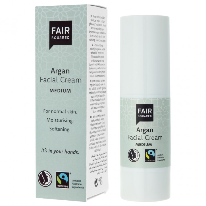 FAIR SQUARED Facial Cream medium ARGAN 30ml