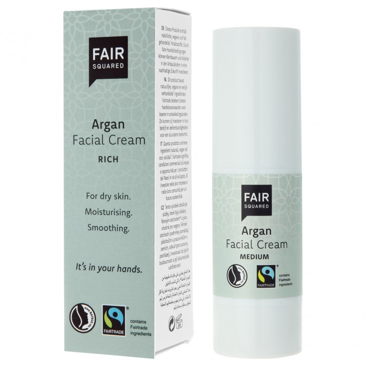 FAIR SQUARED Facial Cream rich ARGAN 30ml