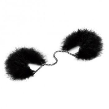 bijoux indiscret za za zu feather handcuffs