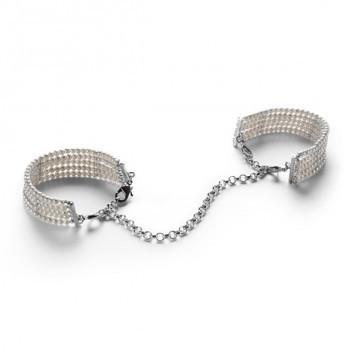 bijoux indiscret plaisir nacré handcuffs pearl