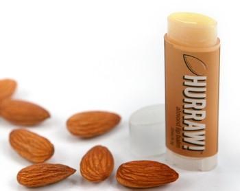 HURRAW! Almond Lip Balm