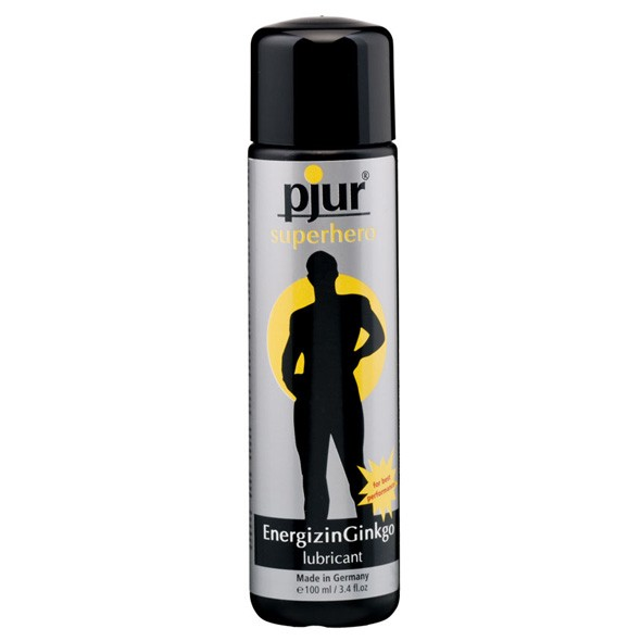 Pjur - SUPERHERO Energizing Gingko Gleitmittel 100ml