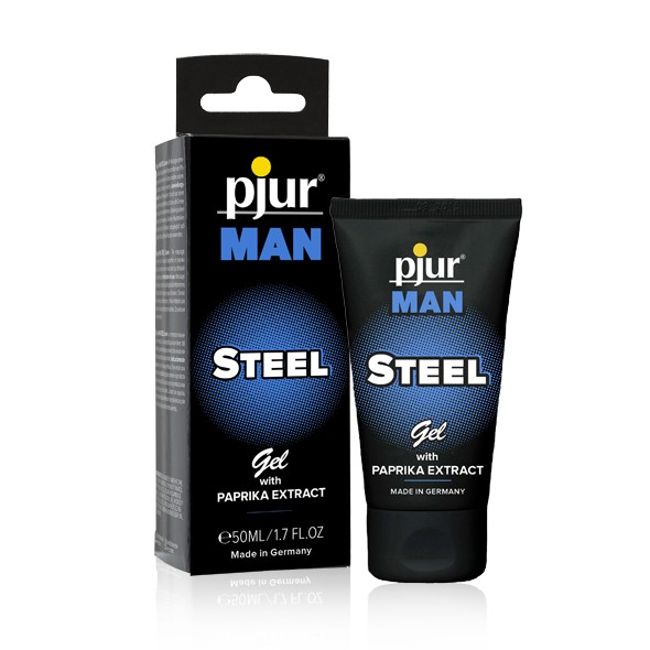 Pjur - MAN STEEL Peniscreme 50ml