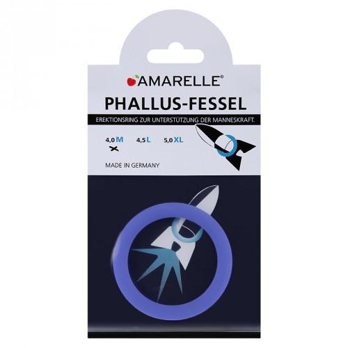 amarelle Phallusfessel (40mm) M blau