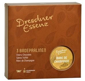 Dresdner Geschenkset Badepralinen & Duftkerze