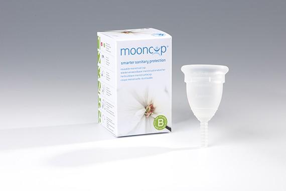 Mooncup® Menstruationsbecher Größe B