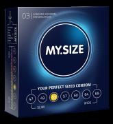 MY.SIZE Kondome Grösse 53mm 3er