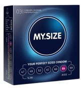 MY.SIZE Kondome Grösse 64mm 3er