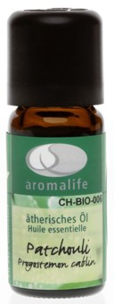 aromalife Patchouli Bio ätherisches Öl 10ml