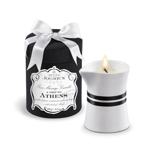Petits Joujoux Massage Candle Athens190g