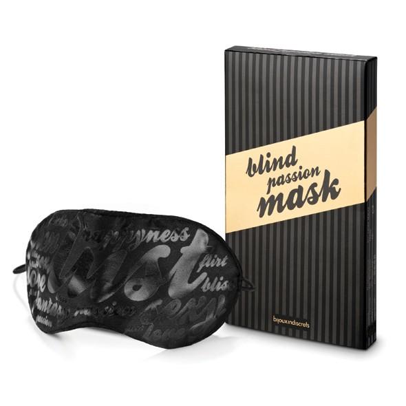 bijoux indiscret blind passion mask - Augenbinde