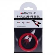 amarelle Phallusfessel (45mm) L rot