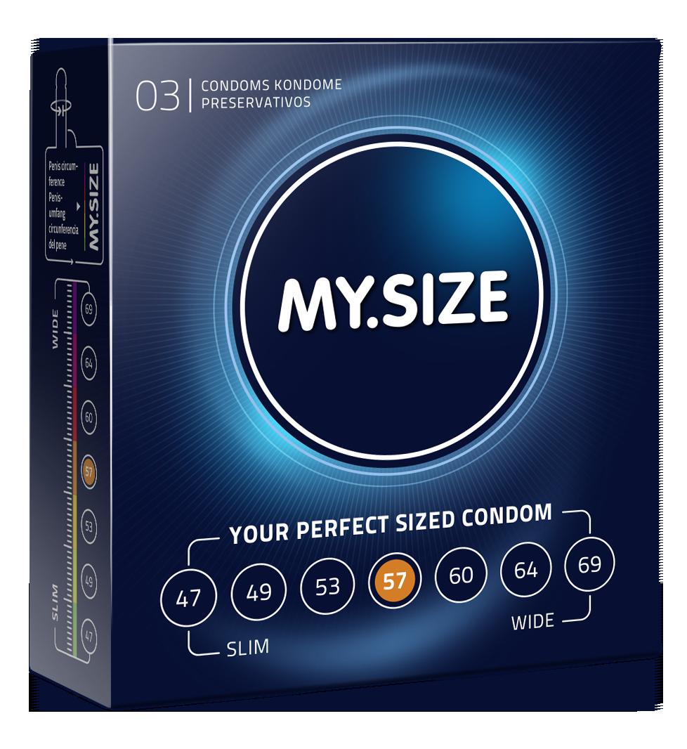 MY.SIZE Kondome Grösse 57 im 3er Pack jetzt online kaufen